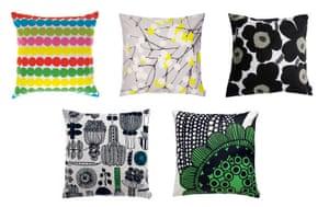 Christmas gifts: Killing: Marimekko cushions