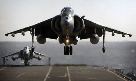 Harrier jump jets