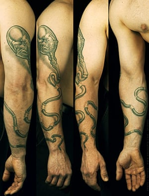 Tattoos: Scott Pitnick's tattoo by Carl Zimmer