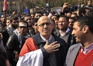 Tahrir Square: Mohamed El-Baradei