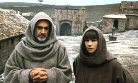 Sean Connery and Christian Slater in The Name of the Rose.