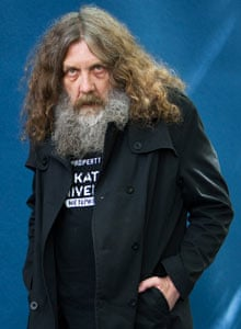 Alan Moore at the Edinburgh international book festival in 2010.