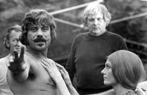 Ken Russell: 1971: On the set of the film 'The Devils'