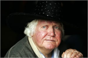 Ken Russell: 2005: Ken Russell at the Coniston Water Festival in the Lake District