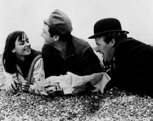Ken Russell: 1964: Alita Naughton, James Booth and Roy Kinnear in 'French Dressing'