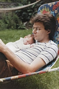 Rosie Swash as a baby and her Dad Tony Swash