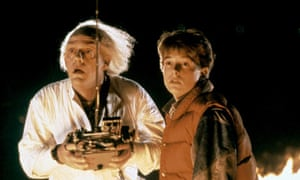 Christopher Lloyd and Michael J Fox in Back to the Future.