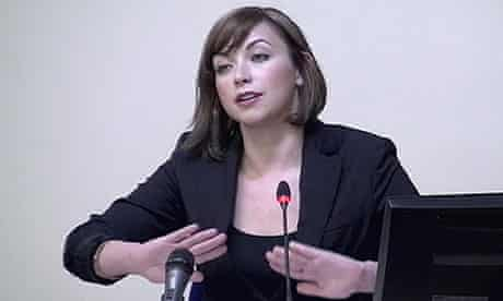 Charlotte Church at the Leveson inquiry