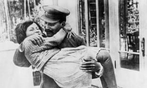 Josef Stalin and his daughter Svetlana