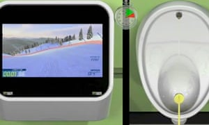 Captive Media's urinal-based games console