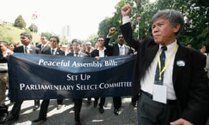 Malaysia's lawyers protest