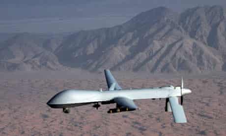 Unmanned MQ-1 Predator drone aircraft