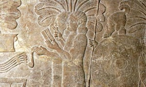 Stone frieze from Nineveh 640BC