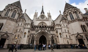 Royal Courts of Justice, London