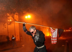 Oakland protests: Mike Clift