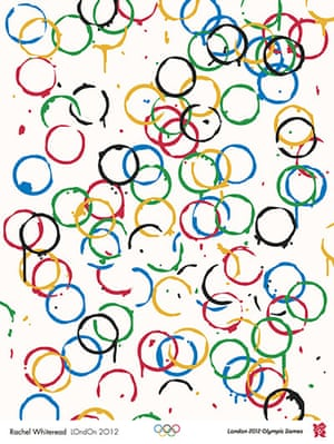 Official Olympic posters: Rachel Whiteread Olympic poster