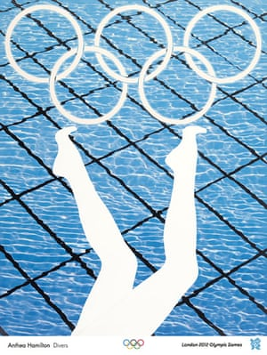 Official Olympic posters: Anthea Hamilton Olympic poster