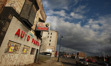 Detroit, manufacturing, US poverty