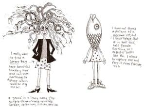 Alien Schoolboy: Gorgon and Mermaid