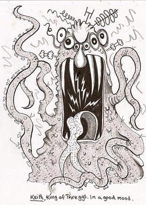 Alien Schoolboy: Keith