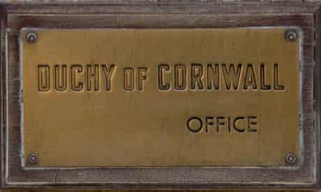 The Duchy of Cornwall's office in the village of Newton St Loe, near Bath