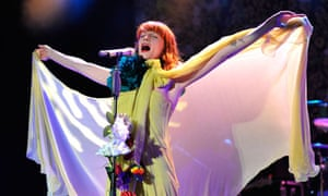Florence And The Machine In Concert - Los Angeles, California