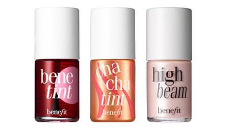 Benetint, Cha Cha Tint, and High Beam from Benefit