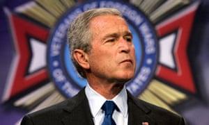 President George W Bush in 2007