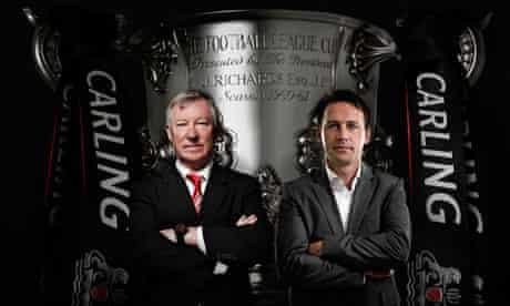 Dougie Freedman and Sir Alex Ferguson