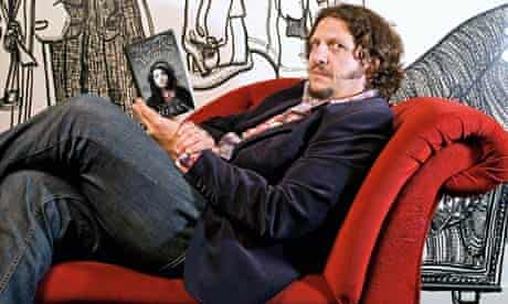 Jay Rayner on the couch