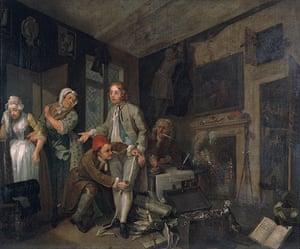 Free Museum entry: A Rake's Progress by William Hogarth