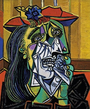 Free Museum entry: Weeping Woman by Pablo Picasso