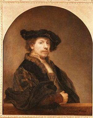 Free Museum entry: Self-Portrait by Rembrandt Harmensz van Rijn