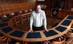 Bideford town councillor Clive Bone