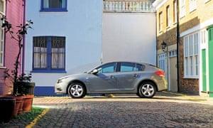 On the road: Toyota Chevrolet Cruze hatchback