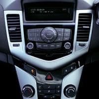 On the road: Chevrolet Cruze hatchback detail