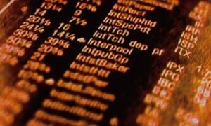 Computer data.