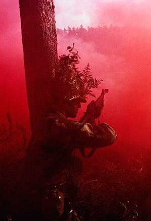 Chris Steel-Perkins: British Territorial Army practice