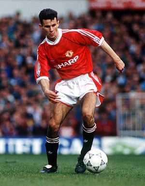 Fergie's 25 years: Manchester United's Ryan Giggs in 1991