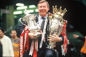 Fergie's 25 years: Sir Alex Ferguson 1996 Double