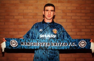Fergie's 25 years: Eric Cantona signs for Manchester United from Leeds united for £1.2m