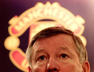 Fergie's 25 years: Manchester United manager Sir Alex Ferguson agrees a contract extension