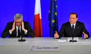 Berlusconi and Tremonti