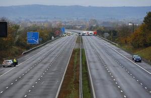 M5 crash: M5 motorway crash