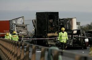 M5 crash: Aftermath