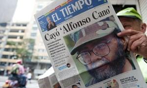 Alfonso Cano dead