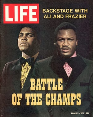 Joe Frazier: Cover of LIFE magazine featuring boxers Ali and Frazier