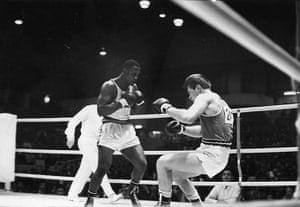 Joe Frazier: Joe Frazier wins Olympic gold in 1964