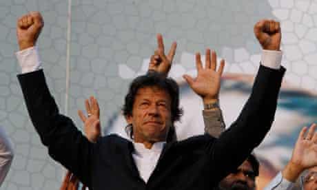 Imran Khan rally