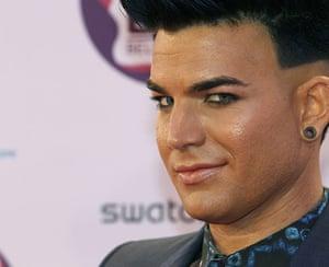 MTV awards: Adam Lambert